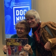 Dr. Ruth and me. Steve Friendman photo